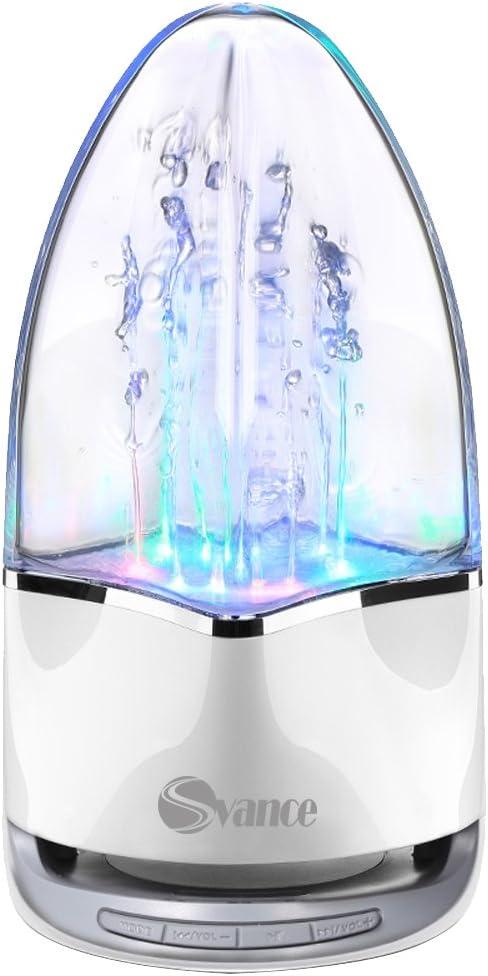 SVANCE portátil altavoz Bluetooth baile agua altavoces fuente de ...