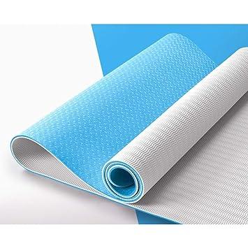 HYTGFR Esterillas de Yoga Antideslizantes para el Ejercicio ...
