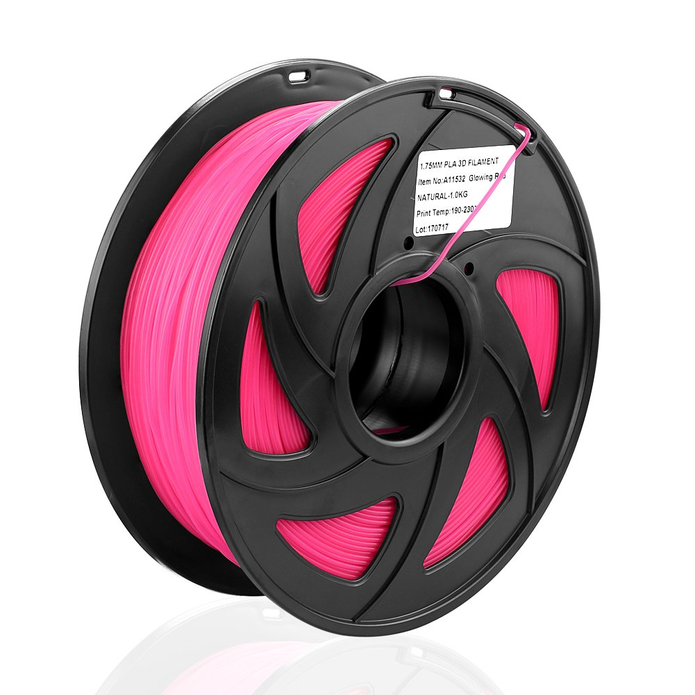 SIENOC TPU Filament 1,75 mm 1kg Rolle für 3D Drucker (TPU Filament Gelb)