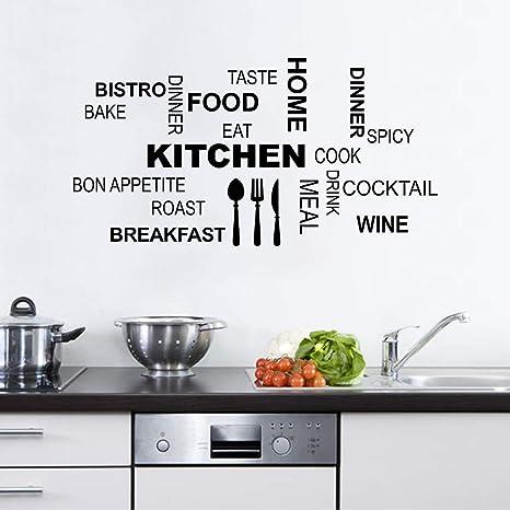Bed and Breakfast  Kitchen B/&B Hotel Vinyl wall art Decal Sticker