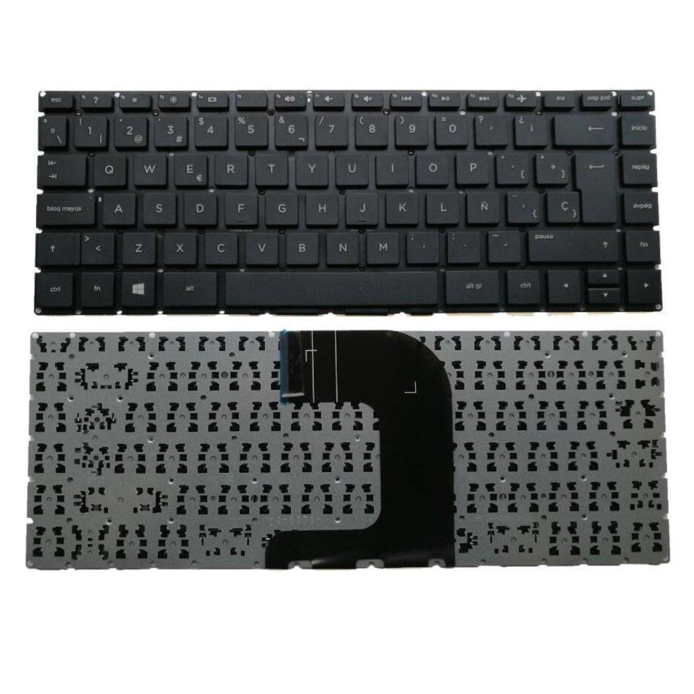 Amazon.com: Replacement Compatible Spanish Keyboard HP 14 ac 14ac 14 ac101la 14 ac103la 14 ac104la 240 G4 245 G4 246 G4 Series Black - Teclado en Español 14 ...