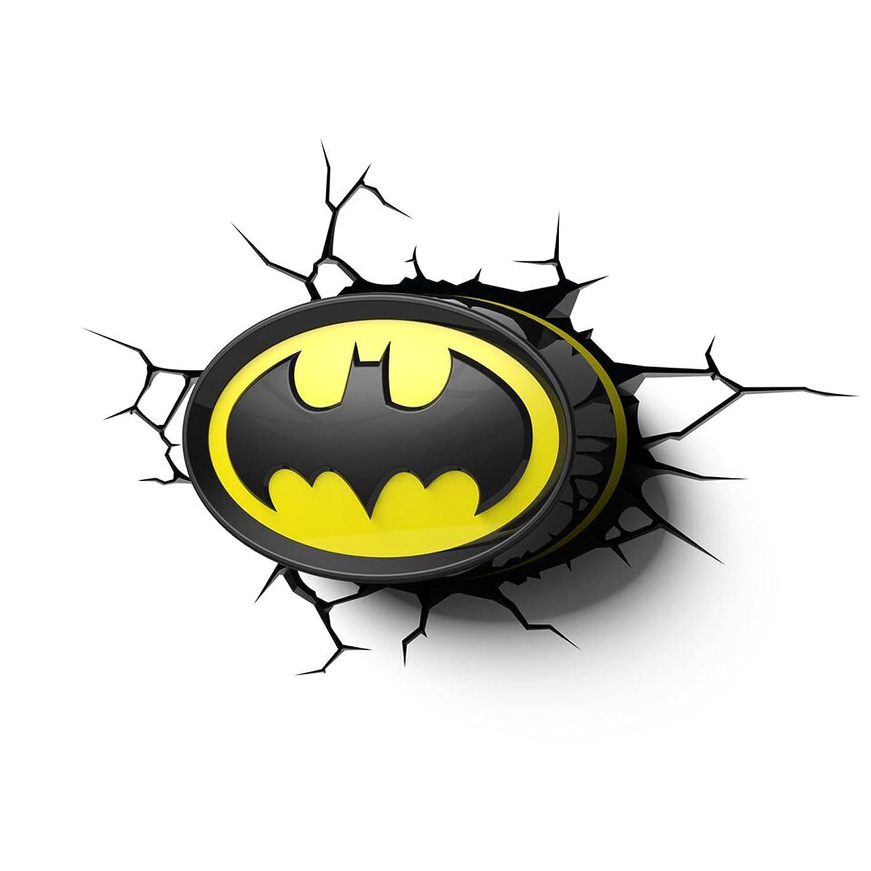 amazon com batman logo 3d led wall light home kitchen rh amazon com Childlike Thor Face Cute Face Thor