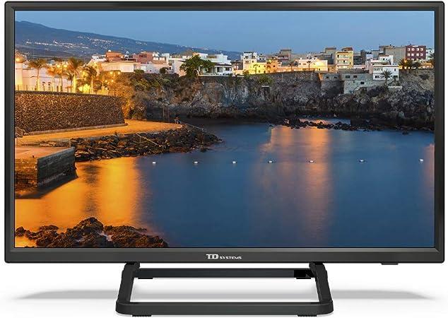 Televisor Led 24 Pulgadas HD Smart con Hbbtv, TD Systems K24DLX9HS. Resolución 1366 x 768, 2X HDMI, 2X USB, Smart TV.: Amazon.es: Electrónica