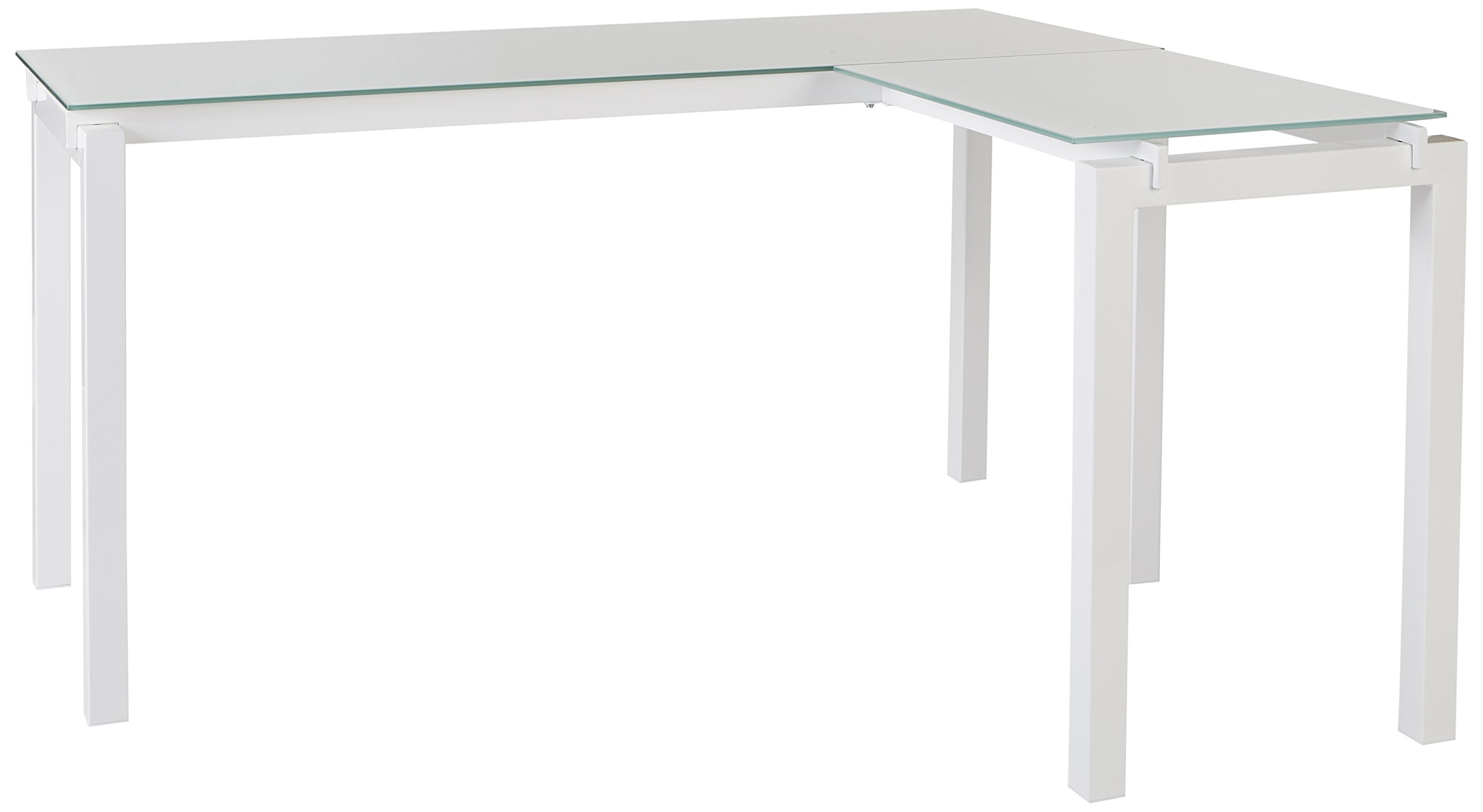 Ashley Furniture Signature Design - Baraga Collection Home Office Desk, 61'', White by Signature Design by Ashley
