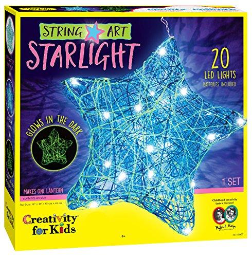 Creativity for Kids String Art Star Light - LED String Art Lantern Craft Kit (String Art)