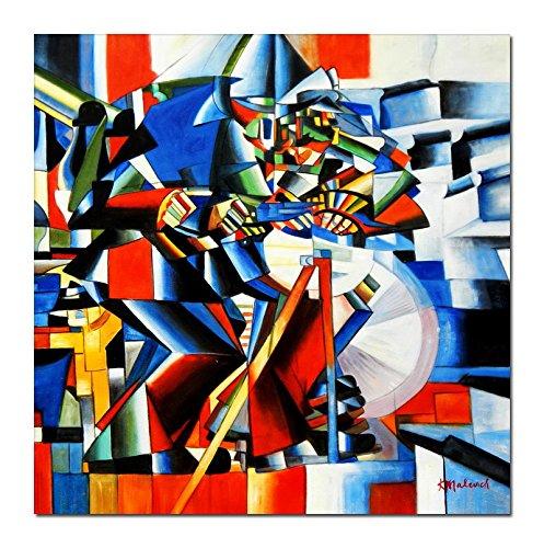 elOleo 89696 a Kazimir Malevich - Afilador de Cuchillos 80 x ...