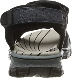 Rieker Damen 68872 16 Geschlossene Sandalen, Blau (Pazifik