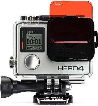 SANDMARC Aqua - Filtro de Buceo para GoPro Hero 4/3+ (5 Unidades), Color Rojo, Magenta y Amarillo: Amazon.es: Electrónica