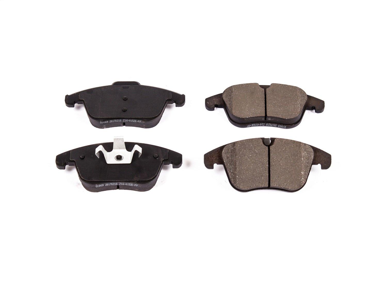 Power Stop 16-1869 Front Z16 Evolution Clean Ride Ceramic Brake Pad