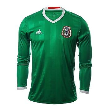 d2c71357fbe98 Adidas Mexico Home Soccer Jersey Copa America Centenario 2016 Long Sleeve  (3XL)