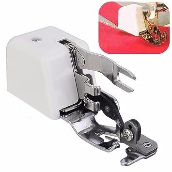 rumfo máquina de coser lado cortador prensatelas de fijación para todos bajo vástago cantante Janome Brother: Amazon.es: Juguetes y juegos