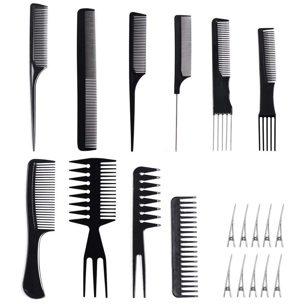 10 Piece Professional Styling Comb Set ElcGadget