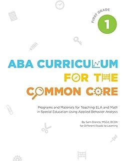 Aba Program Template | Aba Curriculum For The Common Core Kindergarten Sam Blanco Msed
