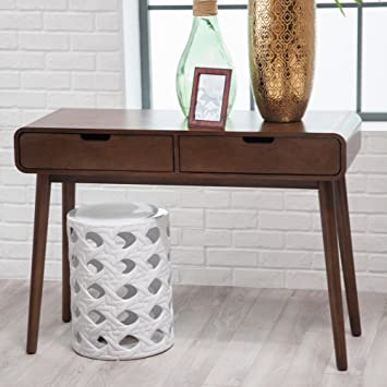 Belham Living Carter Mid Century Modern Console Table