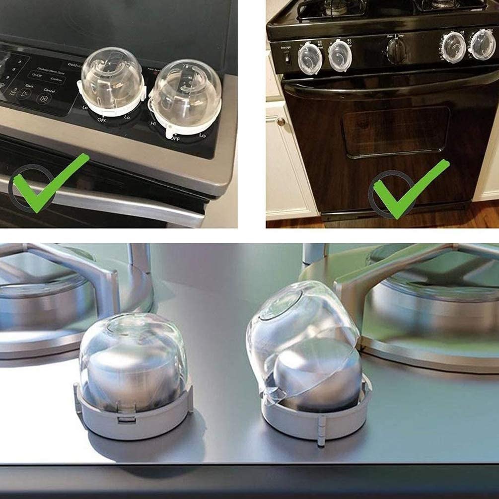 Cubre pomo para hornillo de gas para cocina tapas para pomo ...