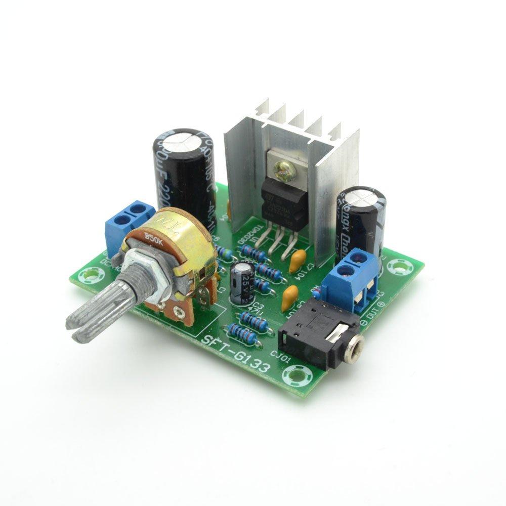 Tda2030 One Channel Mono 15w Ac Dc 12v For Audio Poweramplifiergenneralpurposebyictda2030 Amplifier Board Pack Of 1 Home Theater