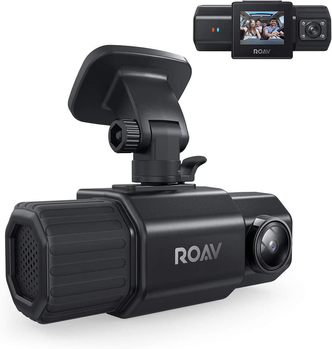 Anker Roav 1080p DashCam Duo Dual Front & Interior Wide Angle Car Cameras