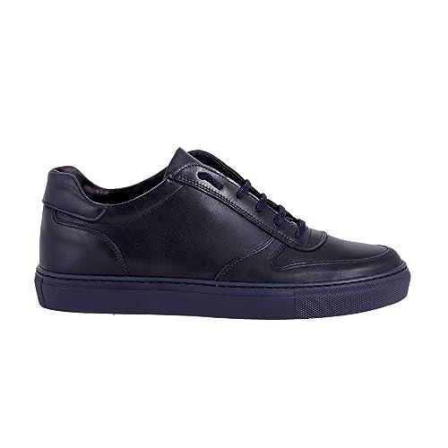 5f92028bbcbf6 eSprez Sneakers Uomo Basse Invernali Pelle Scarpe Uomo Casual Eleganti (45  EU