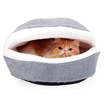Amazon Com Wysbaoshu Hamburger Burger Design Pet Bed Shell Shaped