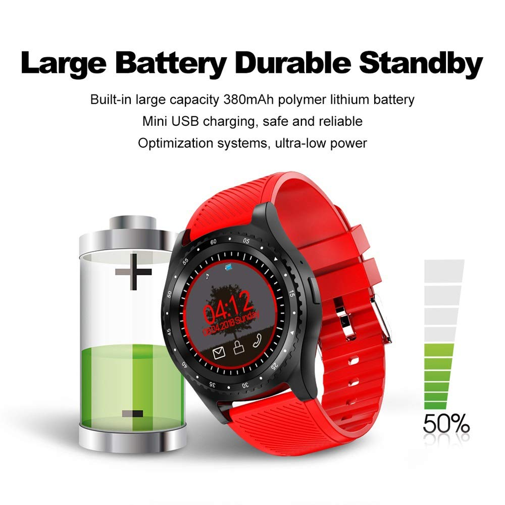Amazon.com: XUMINGZNSB L9 Sport Smart Watch with Camera ...