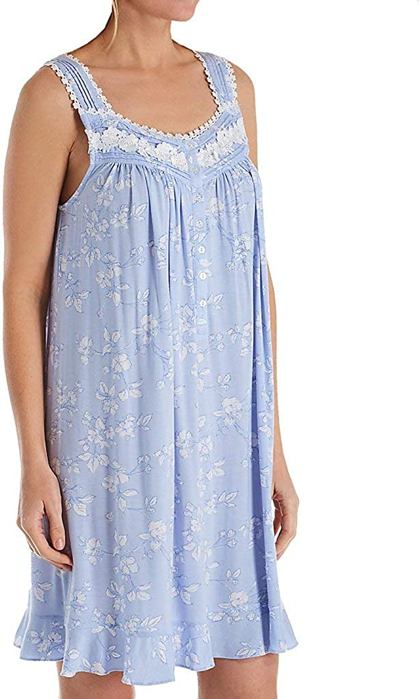 Eileen West Womens Modal Spandex Short Chemise