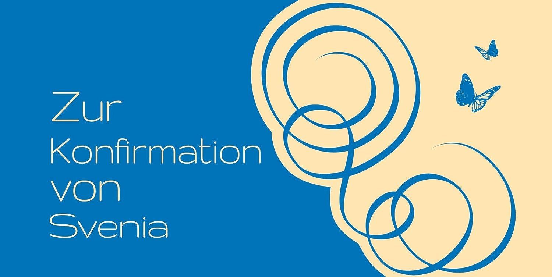 Kartenparadies Einladungskarte Konfirmation Butterfly, hochwertige Einladung zur Konfirmationsfeier inklusive inklusive inklusive Umschläge   10 Karten - (Format  215x105 mm) Farbe  Rosalila B01MSDCMDC | Günstige Bestellung  | Wirtschaft  | Verpackungsvielfalt  0e771d