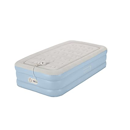 twin air mattress amazon Amazon.com: AeroBed One Touch Comfort Air Mattress, Twin: Sports  twin air mattress amazon