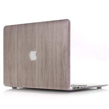 L2W Funda Dura MacBook Air 13 Caso, Plástico Hard Shell Dura de Goma con Protector Case para MacBook Air 13