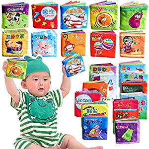 Festiday 1PC Cloth Book Sale Kids Toy, Intelligence Development Cloth Fabric Cognize Book Toy For Baby Gift Education…