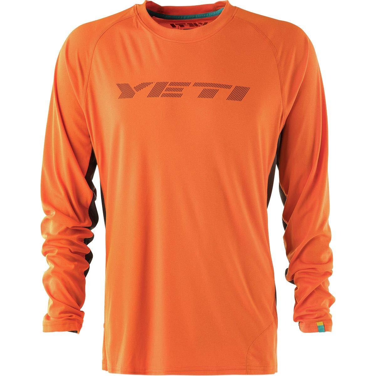(イエティサイクル) Yeti Cycles Tolland Long-Sleeve Jersey メンズ サイクルジャージOrange [並行輸入品] 日本サイズ L (US M) Orange B07G99GR8V