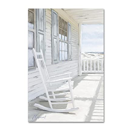 Merveilleux Trademark Fine Art Rocking Chair By The Macneil Studio, 16x24 Inch Canvas  Wall Art