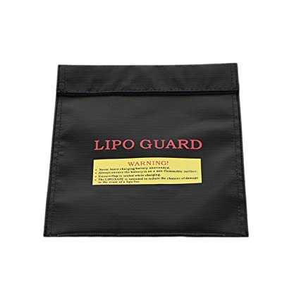Liobaba RC Lipo Li-Po Battery Protection Bags Guard Charging Bag 300 x 230 mm Safety: Garden & Outdoor