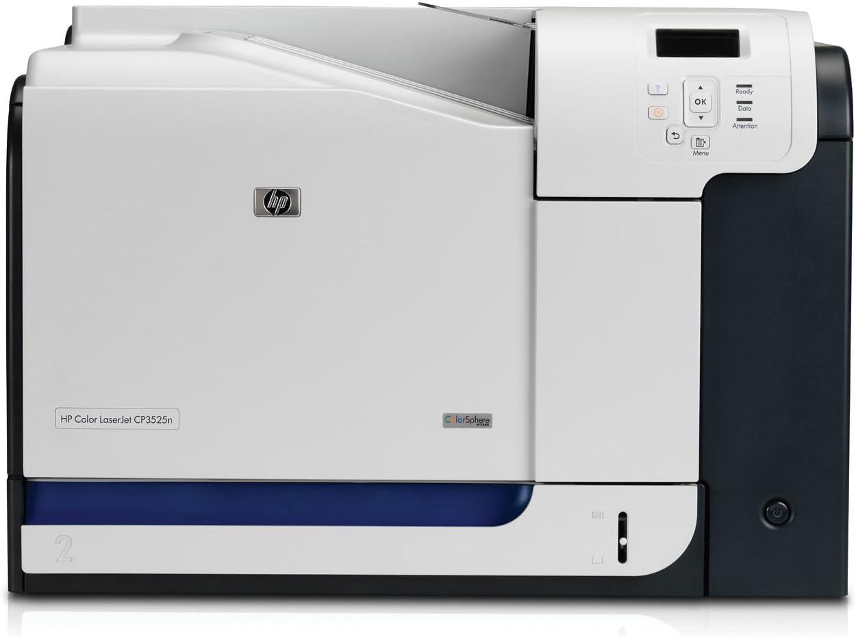 HP LaserJet Color LaserJet CP3525n Printer - Impresora láser (600 x 1200 DPI, Laser, 30 ppm, 30 ppm, 131s, 350 hojas) Si: Amazon.es: Informática
