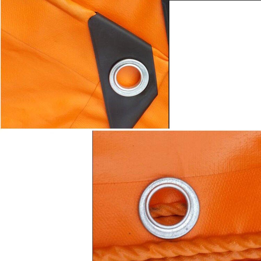 Telo di copertura copertura copertura DUO Panno impermeabile per esterno in tela cerata arancio Prossoezione solare per addensare La dimensione del camion può essere personalizzata (Coloreee   arancia, dimensioni   3x 3m) | Bella E Affascinante  | Materiali Di Altiss f90e15