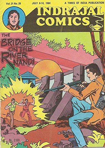 Indrajal Comics-523-Bahadur: The Bridge On The River Nandi - Import