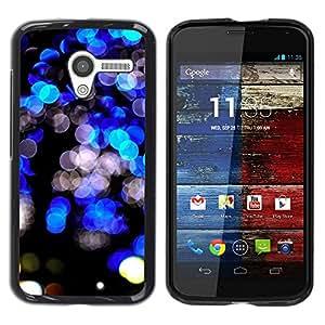 "Pulsar Snap-on Series Teléfono Carcasa Funda Case Caso para Motorola Moto X Motorola Moto X ( 1st Generation ) , Negro Bright Lights vibrante Night City"""