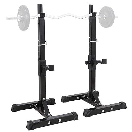 Amazon Com Oteymart 2 Pc Pairs Of Adjustable Squat Stands
