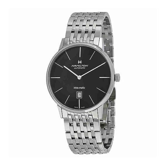 Hamilton Reloj Silver Intra-Matic H38755131