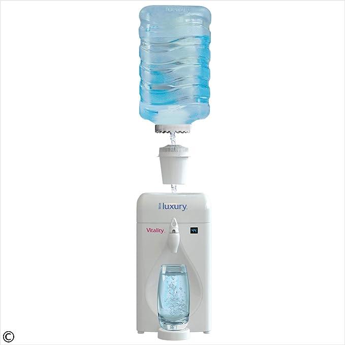 Amazon.com: Little Lujo Vitalidad Mini refrigerador de agua ...