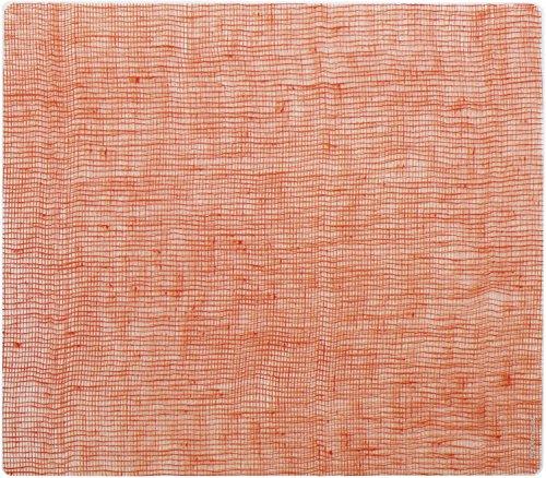 modern-twist Silicone Placemat, Linen Pattern, Citrus