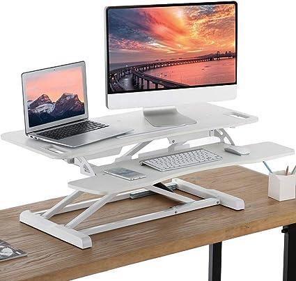 laptop computer scrivania comodino per feste FakeFace Cavalletto regolabile in altezza ufficio per casa scrivania cena tavolino da caff/è pieghevole non necessita di montaggio