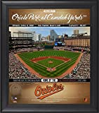 "Baltimore Orioles Framed 15"" x 17"" Welcome to the Ballpark Collage - Fanatics Authentic Certified - MLB Team Plaques and Collages"