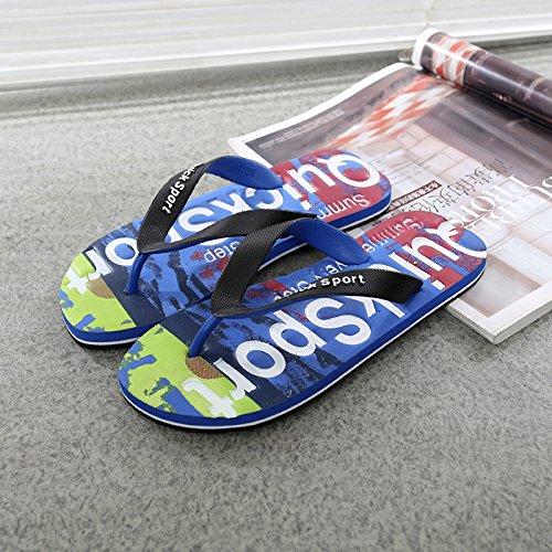 DMXY-masculine estivale des chaussons chaussons,bleu,40