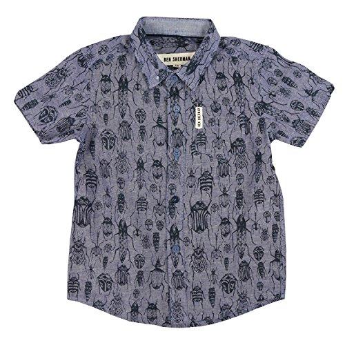 ben-sherman-bugs-ss-chambray-shirt-3-4-years-98-104-cm