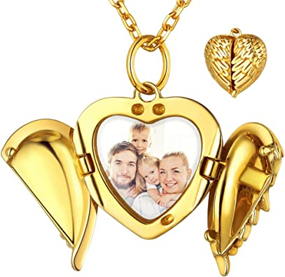 2 colors Custom Engraved Heart Heart Pendant for Mothers Day Anniversary Gift Cross and Heart Charm Hypoallergenic Necklace