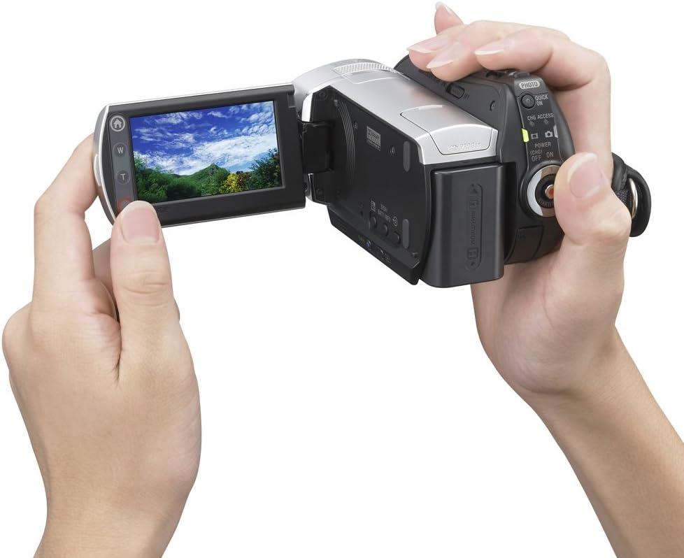 Sony Handycam DCR-SR45 Pro Digital Lens Hood 37mm + Stepping Ring 30-37mm Collapsible Design Nwv Direct Microfiber Cleaning Cloth.