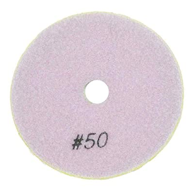 "Specialty Diamond BRTD450 4"" Dry Concrete Polishing DHEX Pad, 6mm - 50 Grit: Home Improvement"