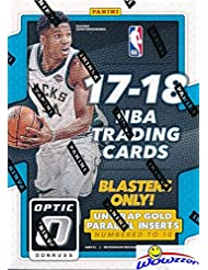 2017/18 Panini Donruss OPTIC NBA Basketball EXCLUSIVE Factory Sealed Blaster Box! Look for ROOKIES, PRIZMS & AUTOGRAPHS of Donovan Mitchell, Kyle Kuzma, Jayson Tatum, Lonzo Ball & More! WOWZZER!