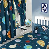 Rapport Solar System Curtains Fully Lined 66x54 with Tie Backs