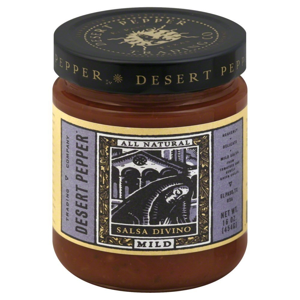 Desert Pepper Divino Mild Salsa 6x 16 Oz